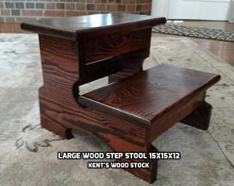 Pleasing Large Step Stool Wood Step Stool Kitchen Step Stool Creativecarmelina Interior Chair Design Creativecarmelinacom