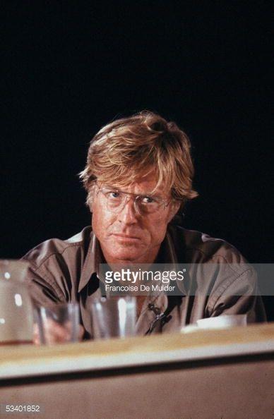 Robert Redford, American actor, in Havana . 1988. FDM-54-5 Fotografía de noticias   Getty Images
