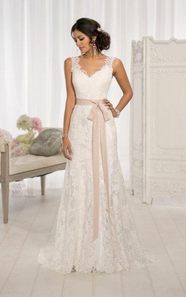 brautkleider spitze hochzeitskleid brautmode 2014 | Dream Wedding ...
