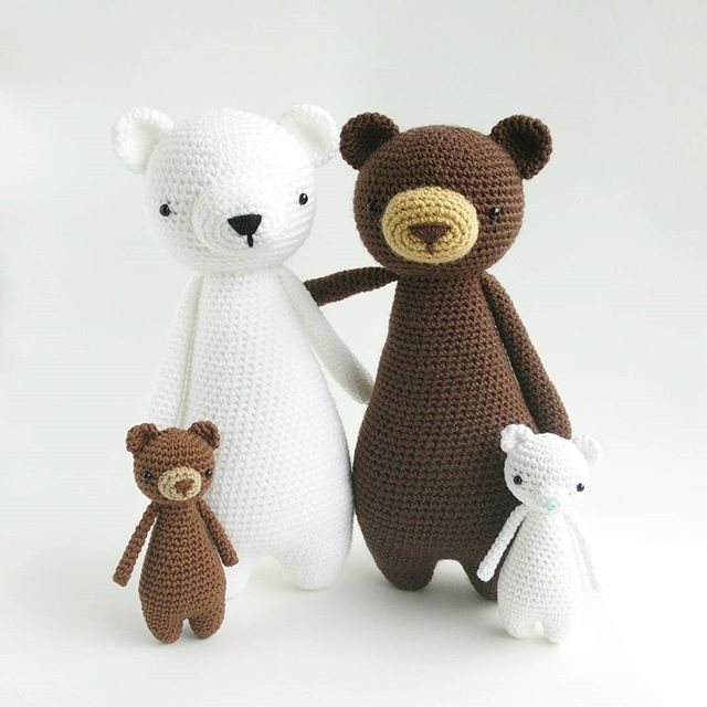 Family Bear is totally ready for the release of Mini Bear crochet ...