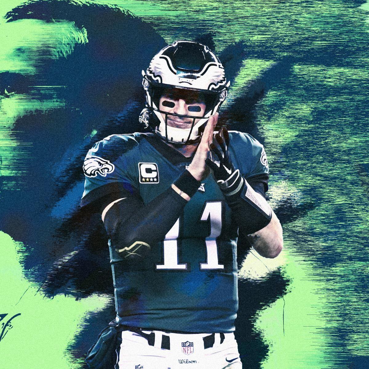 Carson Wentz Is Ready To Put His Stamp On Philadelphia And The Nfl Carson Wentz Nfl Philadelphia Eagles Philadelphia Eagles Football