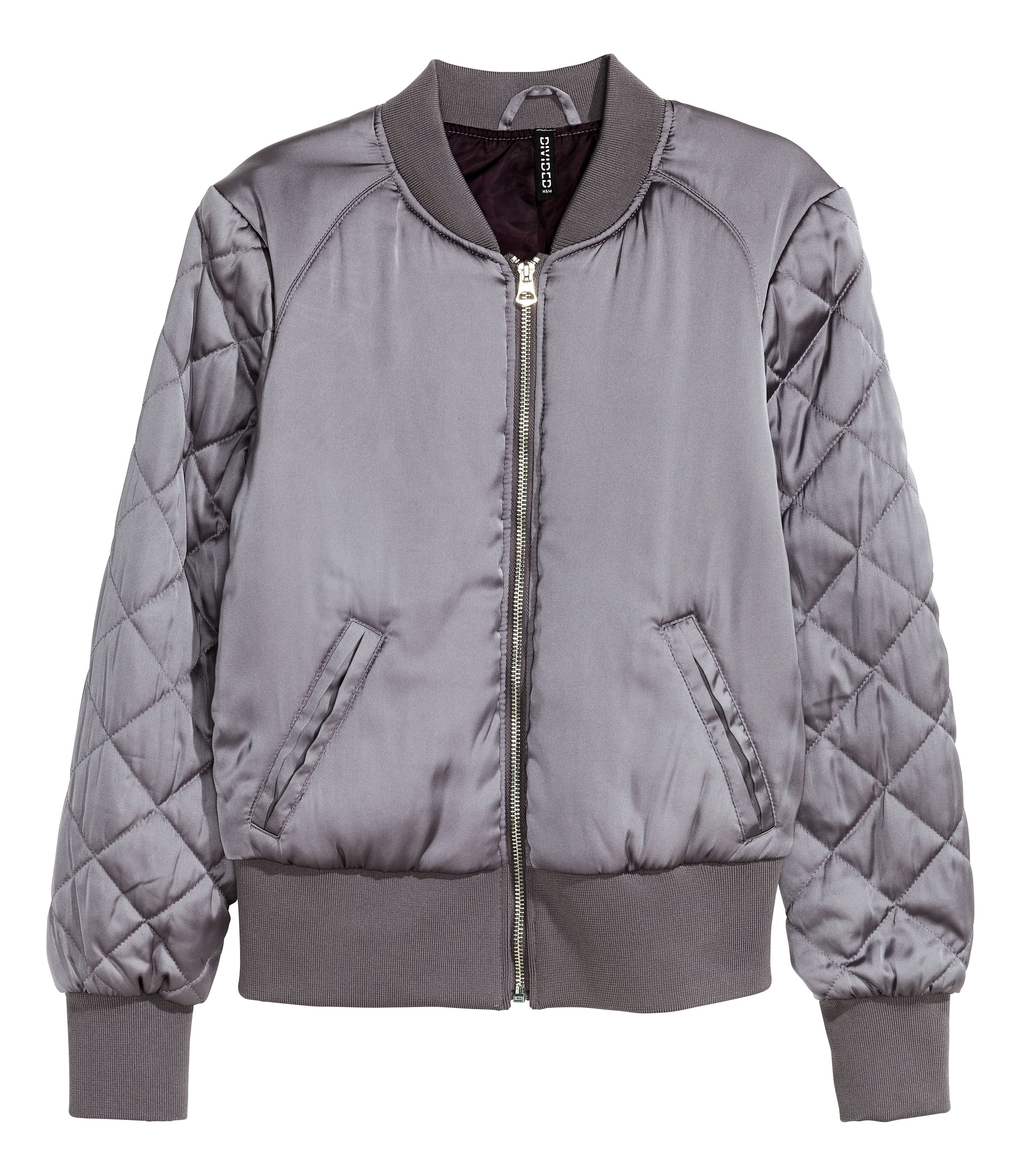 Hm Holiday Best New Arrivals Gift Wish List Padded Bomber Jacket Satin Bomber Jacket Bomber Jacket [ 3856 x 3347 Pixel ]