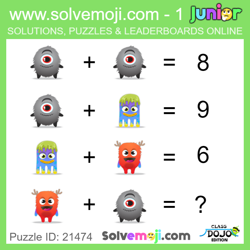 Emoji math puzzles, can you solve it? | חשבון | Maths