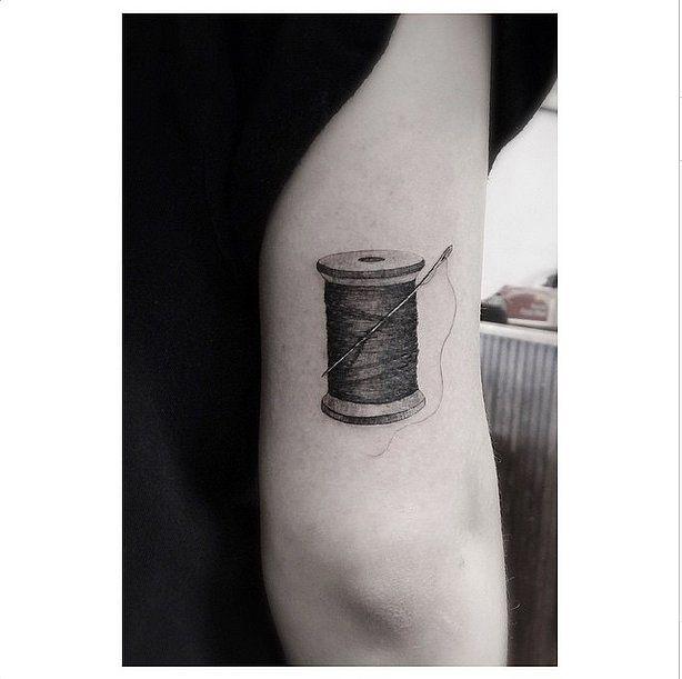 33 Real Tattoos That Were Made For Fashion Girls | Tattoo, Fashion ... : temporary quilt tattoos - Adamdwight.com