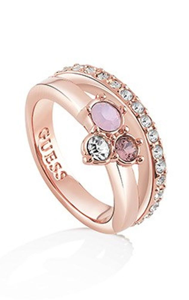 7af8dfc7d2cf Anillo Guess metal mujer UBR61015-56