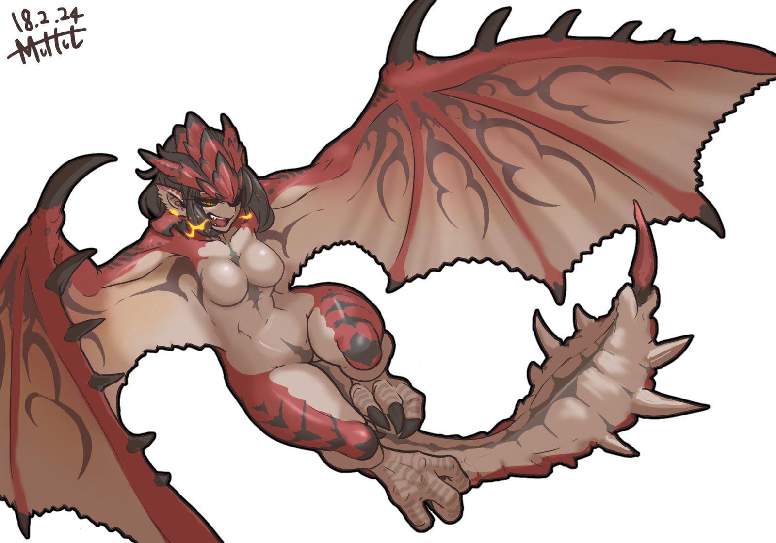 Ratalos Rathalos Monster Hunter Monster Hunter World Monster