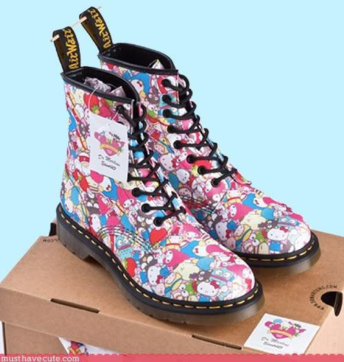 Hello Kitty Doc Martens out September