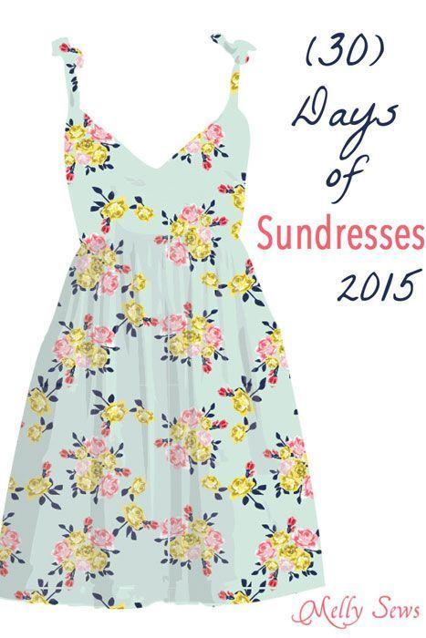 50 Ways to Sew a Sundress | Costura, Patrones y Molde