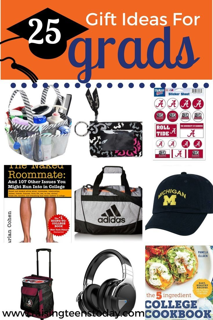 25 awesome graduation gift ideas for collegebound high