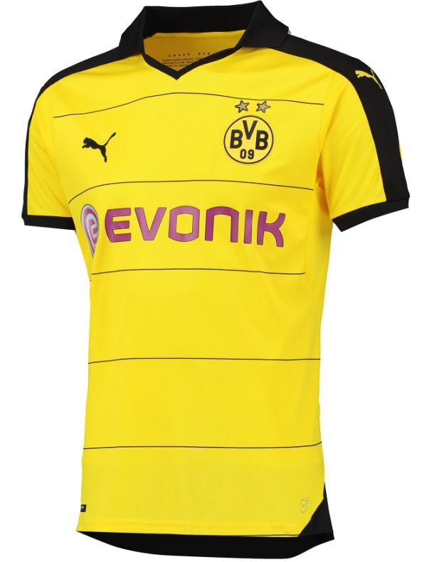ad0832cd85aeb Borussia Dortmund 2015-16 Home kit
