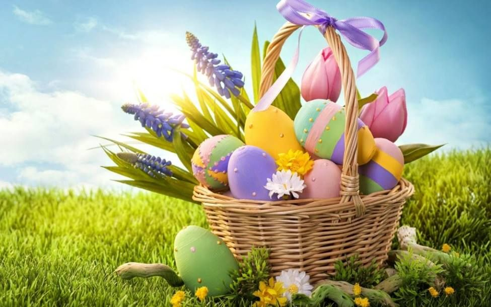 Happy Easter 2018 Wallpapers HD With Easter Egg HD Images And Wishes: Easter  Usually Occurs On The First Sunday After Good Friday.