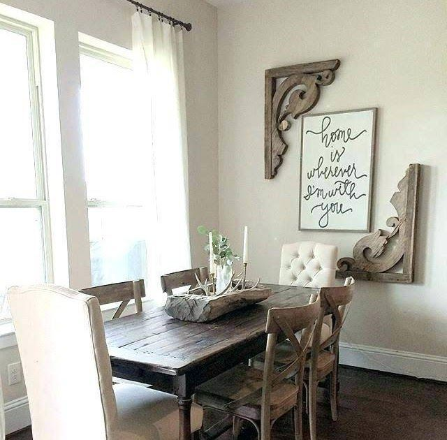 Enchanting Large Wall Art Pictures For Dining Room Decor 37 Best Farmhouse Dini Art Decor Din In 2020 Dining Room Wall Decor Dining Room Small Dining Room Design