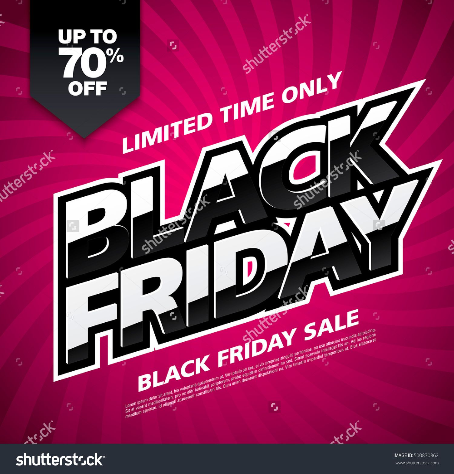 Black friday sale banner buy this stock vector on shutterstock find other images