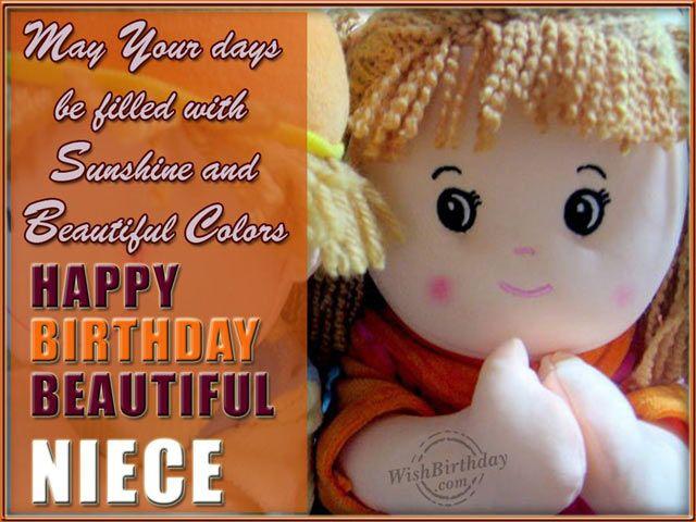 BirthdaywishesfornieceHappyBirthdayNieceQuotesPictures – Niece Birthday Greetings