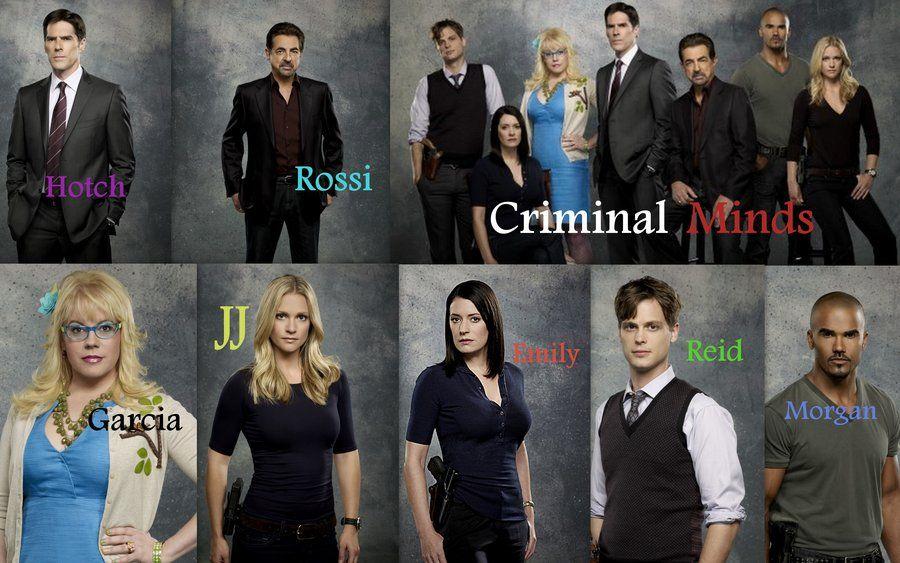 Criminal Minds Cast Season 7 By Ooalyssaoo On Deviantart Criminal Minds Criminal Minds Season 10 Criminal Minds Cast