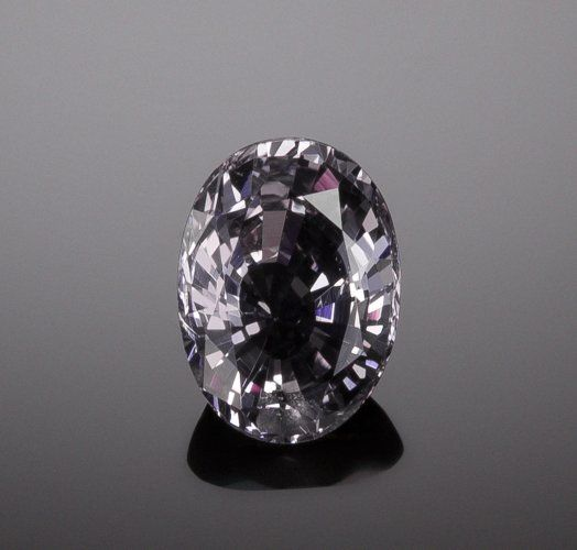 Gems:Faceted, RARE GEMSTONE: TAAFFEITE - 2.21 CT.. Sri Lanka.Measurements: 9.19 x 6.68 mm, 2.21 ct. Sold for: $10,000.00