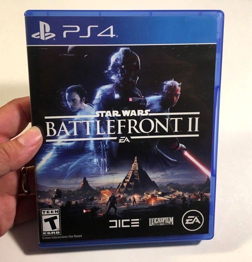 Star Wars Battlefront 2 Ii Sony Playstation 4 Ps4 Rey Darth