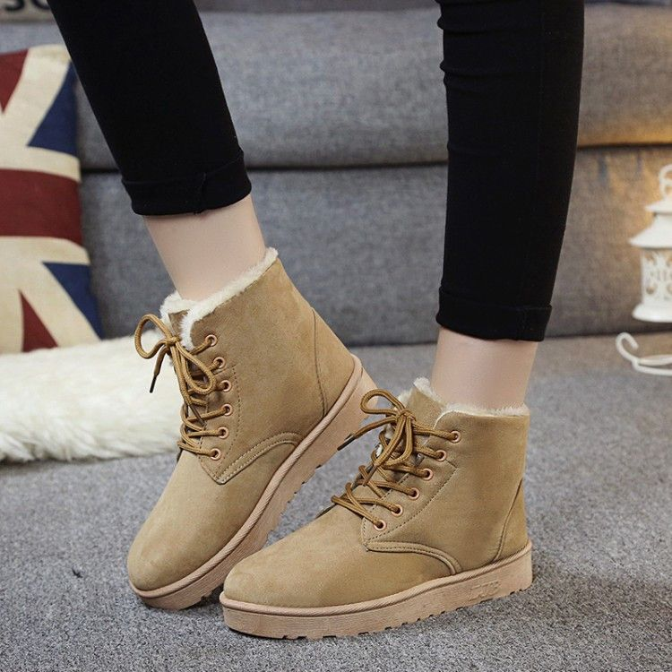 Shoes For Women Snow Boots Flat Heel Ankle Boots More Colors