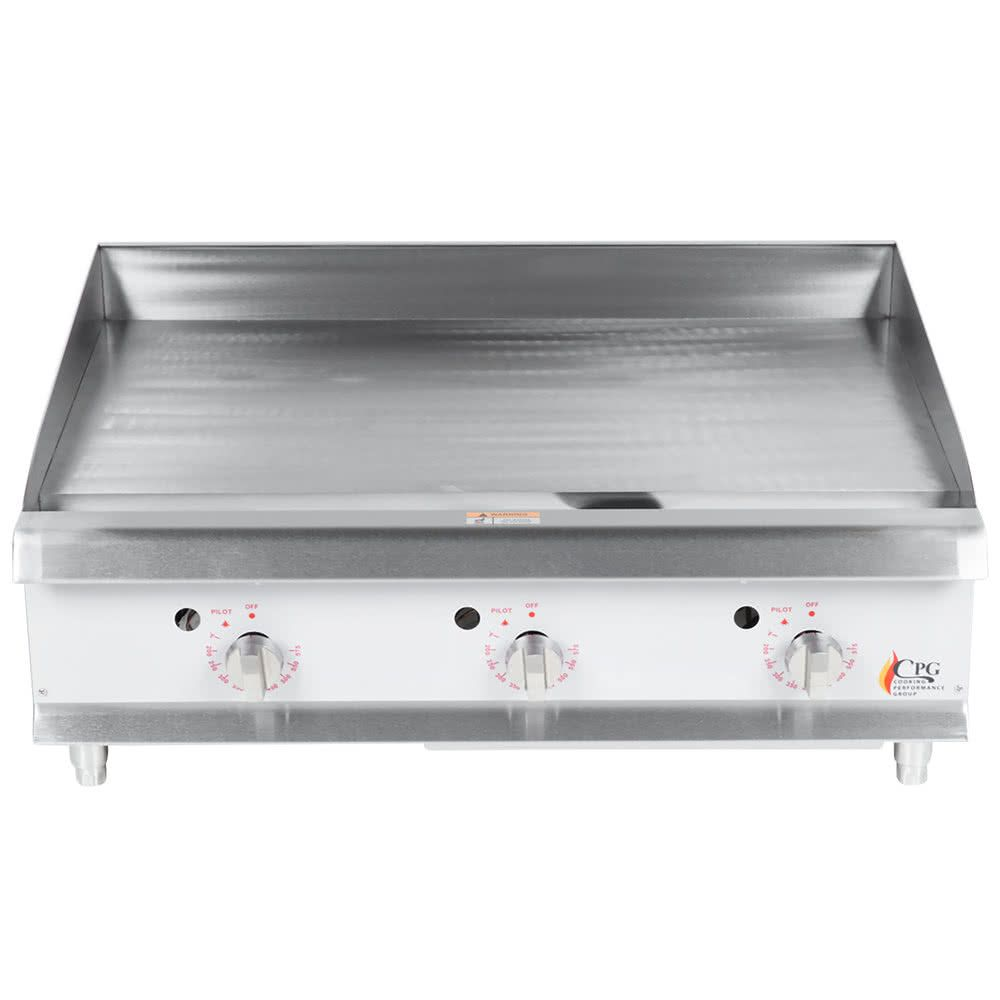 Cooking Performance Group G36t 36 Heavy Duty Gas Countertop