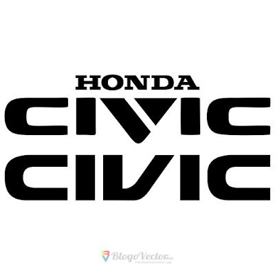 Honda Civic Logo Vector Vector Logo Honda Civic Civic