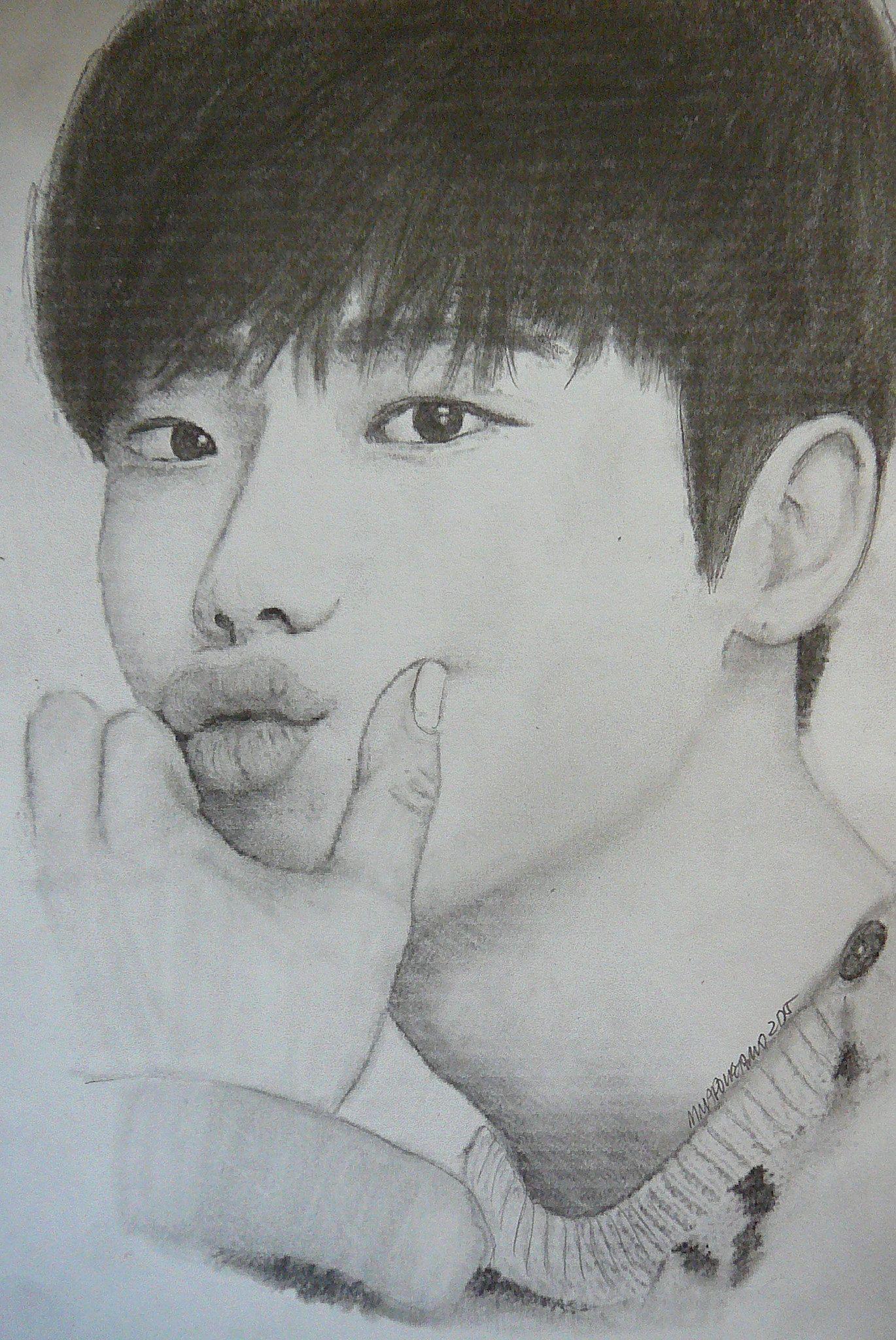 Lee Jong-suk   MY Zentangles And Artwork   Pinterest   Lee Jong Suk Sketches And Kdrama