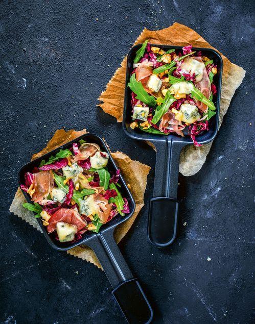 Raclette-Ideen: Von Pizza-Raclette bis Omelette im Pfännchen #racletteideen