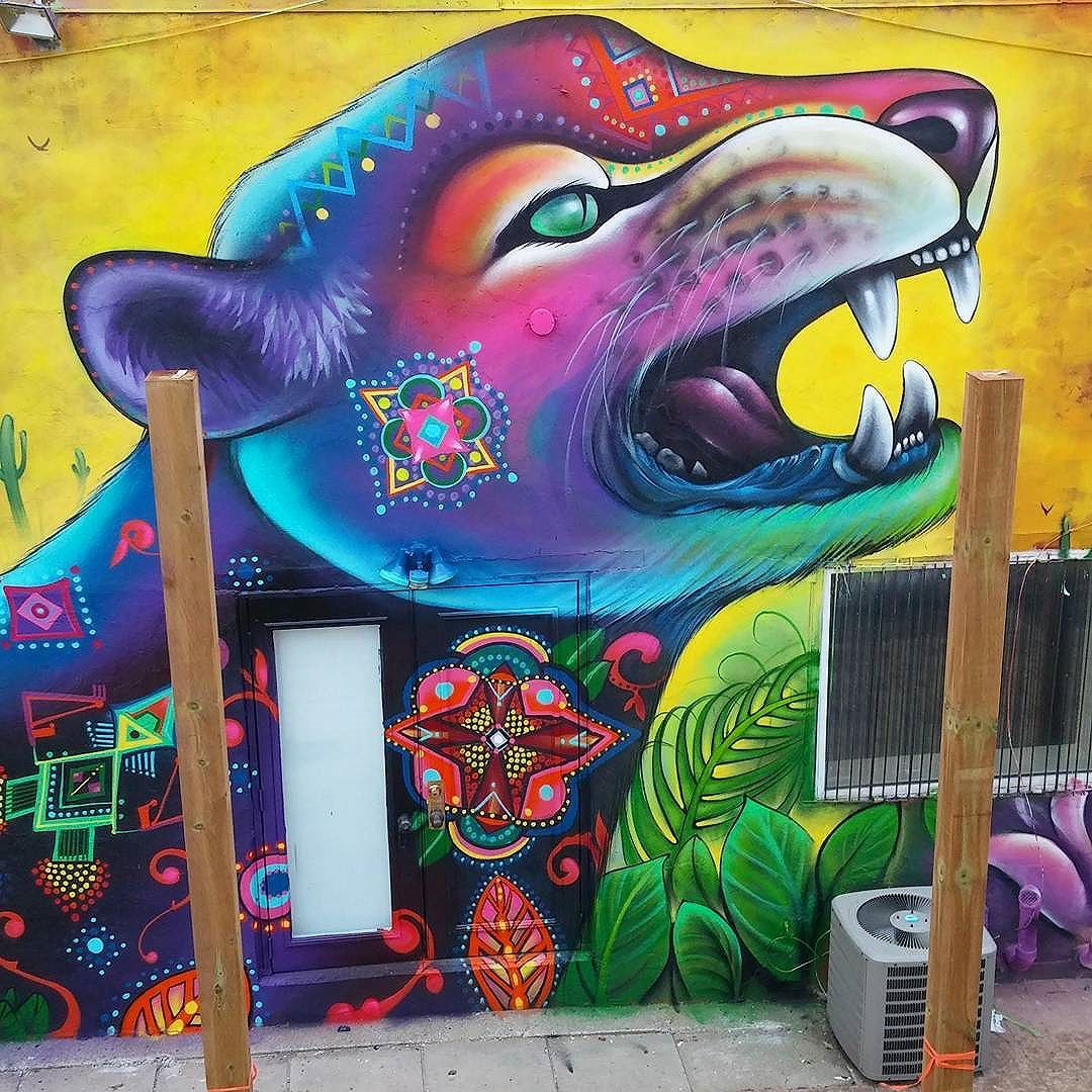 #shalak #attack #streetart #urbanart #streetartists #graffiti #mural #widewalls…