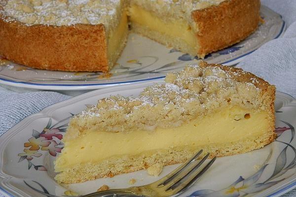 Streuselkuchen mit Pudding von Seelenschein | Chefkoch