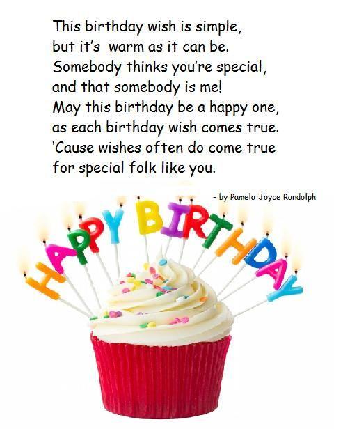 simple birthday wish an