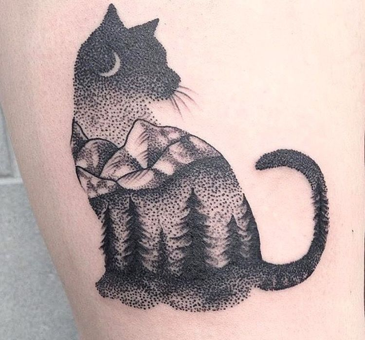 1000 Tatuajes De Gatos Significados Modelos E Inspiraciones Cat Tattoo Designs Cute Cat Tattoo Black Cat Tattoos