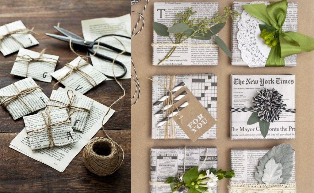 Como envolver regalos originales para Navidad Como envolver - envoltura de regalos originales