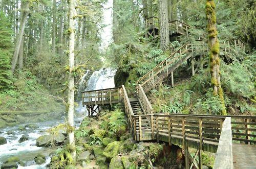 McDowell Creek Falls Linn County Park Lebanon Sweet Home Oregon