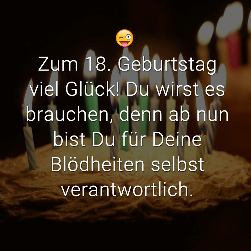 18 Geburtstag Die Besten Spruche Und Gluckwunsche