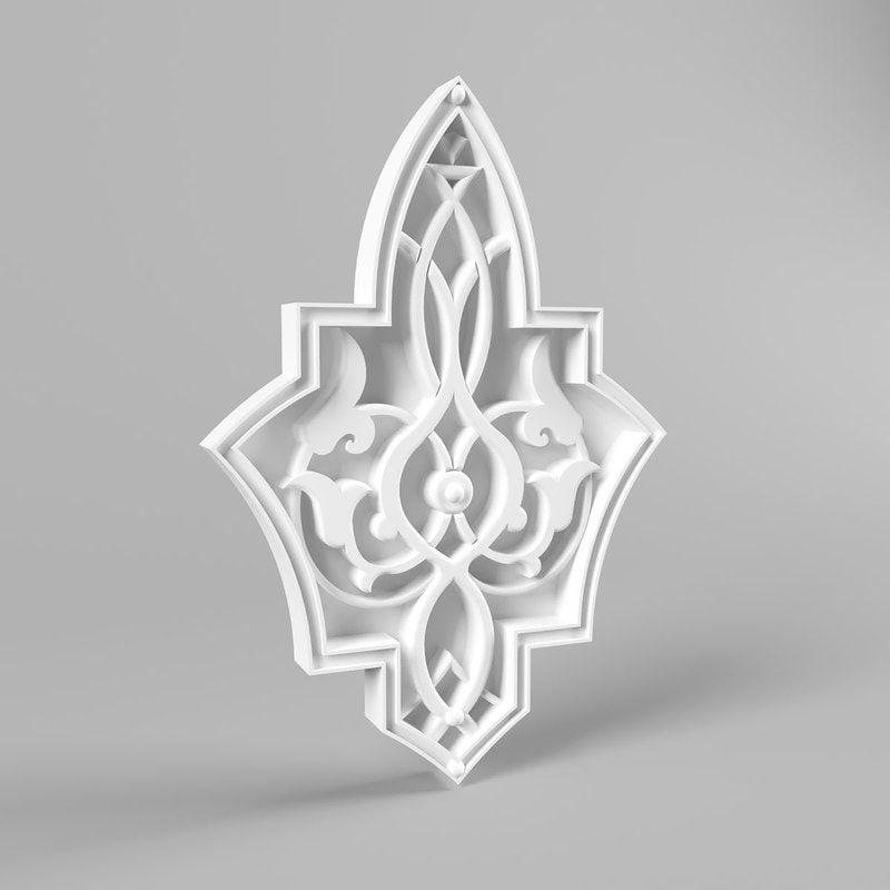 نموذج لاعمال الجص زخرفة نباتية الكتف والدرج Islamskie Uzory Islamskoe Iskusstvo Arabeski