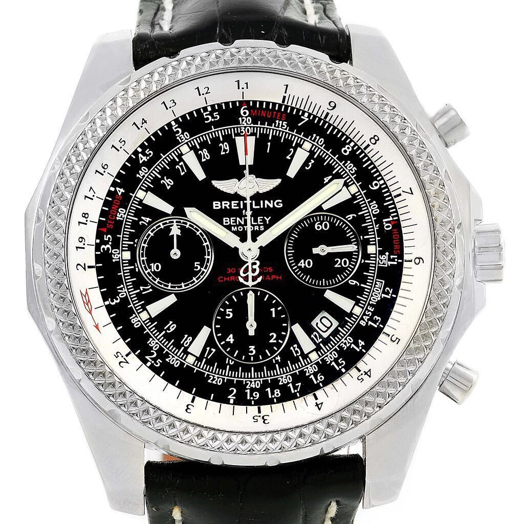 Power And Style The Breitling For Bentley Line Is Born Out Of The Same Pursuit Of Perfection Shared By The British Carmaker And Swi With Images Breitling Bentley Breitling
