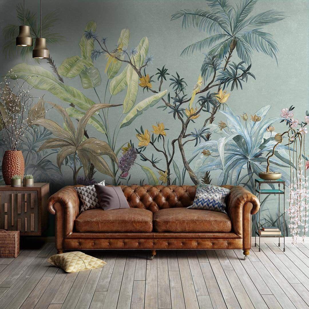 Pin By Marlies Van Velzen On Woonkamer Wallpaper Living Room Wallpaper Trends Home Wallpaper Living room wallpaper ideas