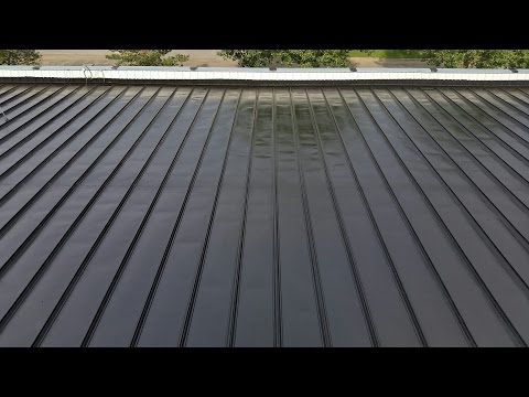 Metal Roof Coating Liquid Rubber Scope Of Work General Roofing Systems Canada Grs Metal Roof Leaks Metal Roof Coating Metal Roof