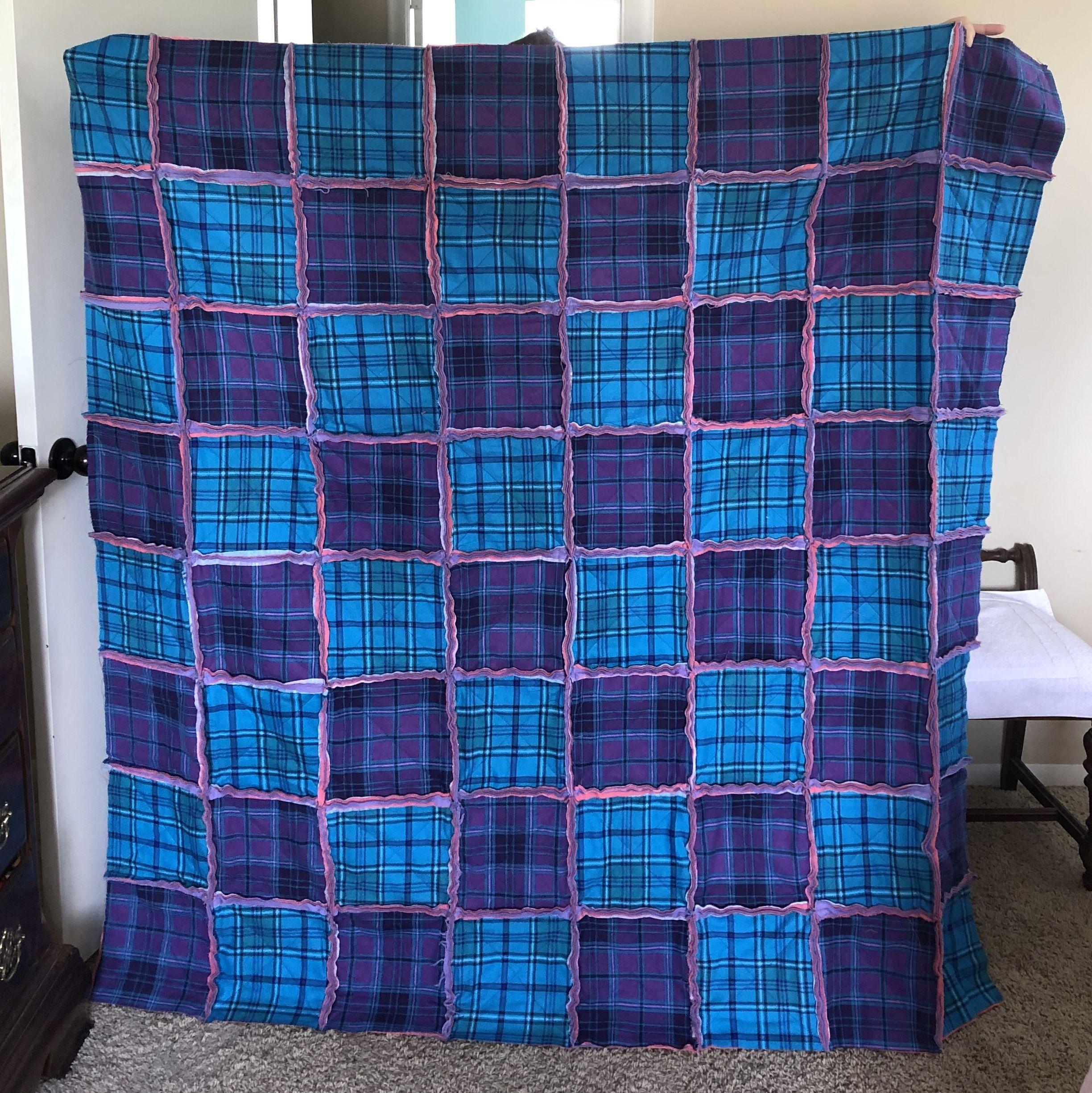 2019 rag quilt retirement gift rag quilt retirement