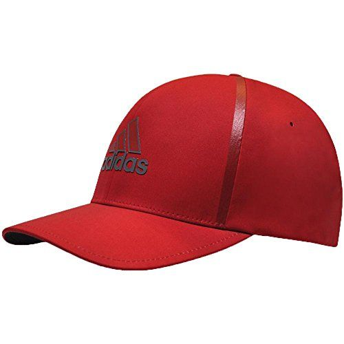 Flex Fitted Baseball Cap Hat Small-Medium Red