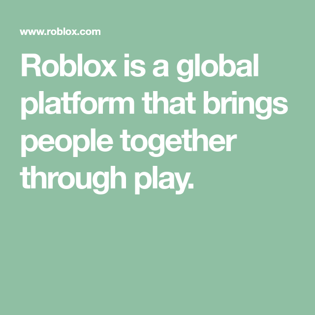 Roblox Green Nike Roblox Is A Global Platform That Brings People Together Through