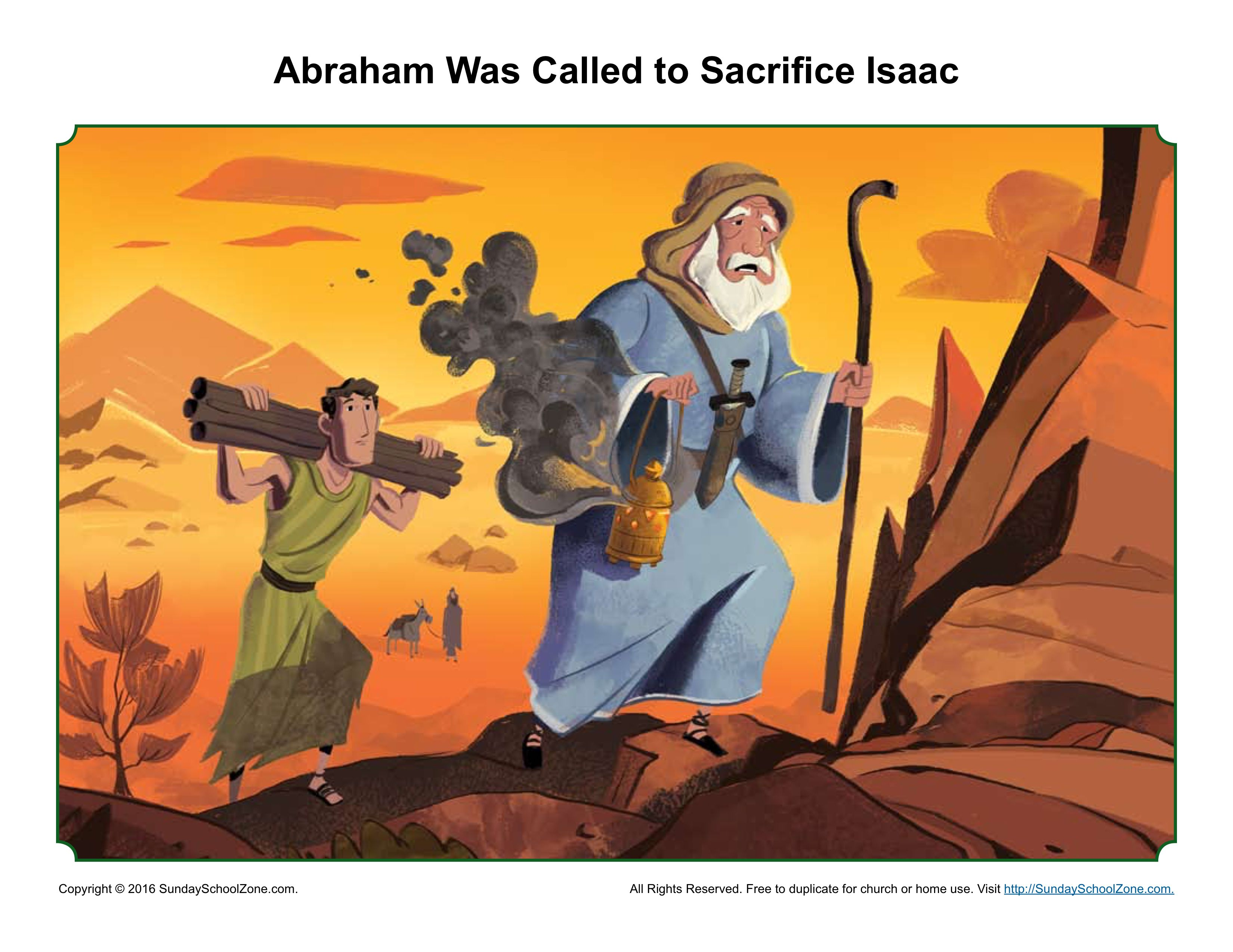the importance of excepting gods will in the story about abraham and isaac from the bible But this one bible verses has always been  christians: please help explain this bible verses  isaac is like abraham (7 12:13, 20:2, 12.