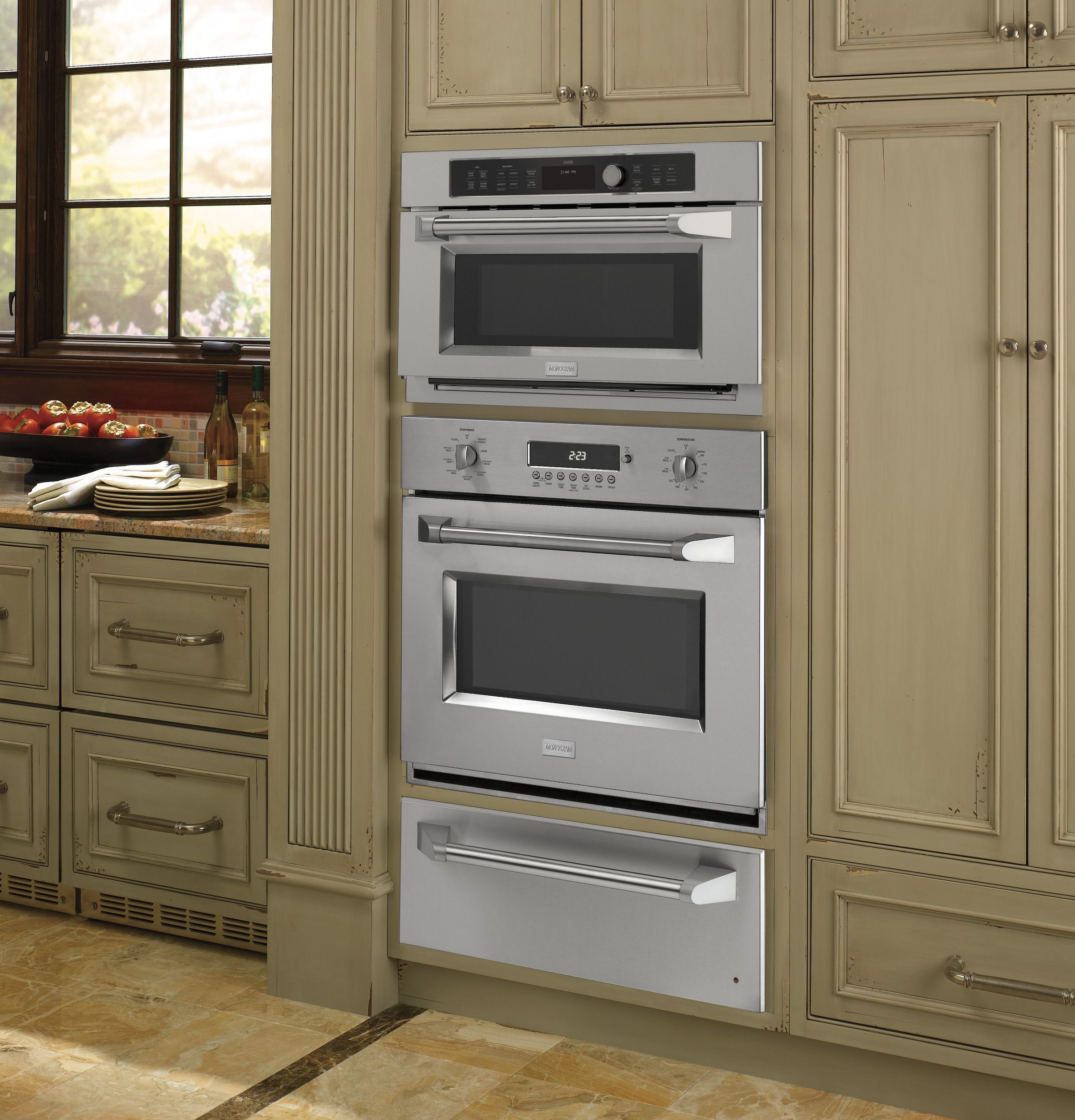 Single Oven With Warming Drawer