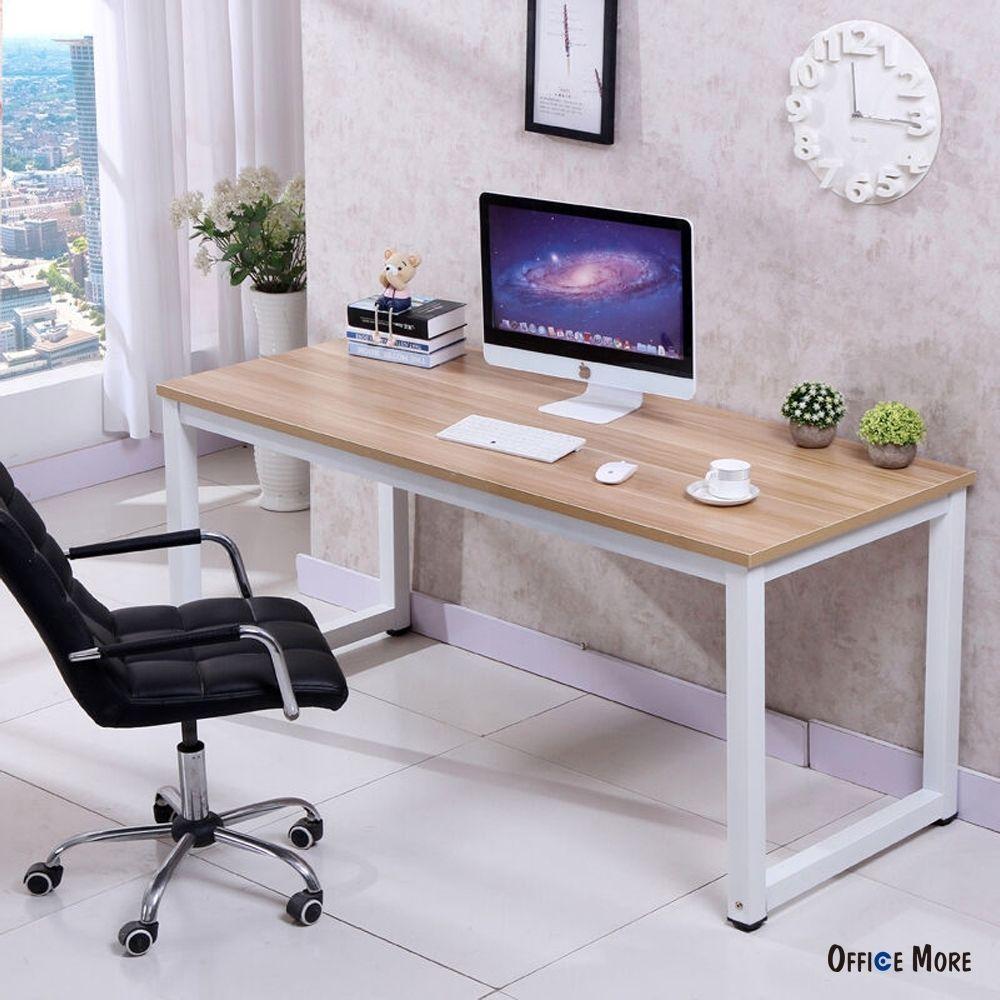Computer Desk Pc Laptop Table Wood Workstation Study Home Office  # Portobello Muebles