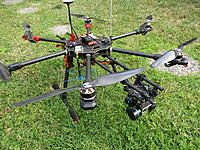 Tarot 680 Pro - Very stable UAV  A lot of research went into