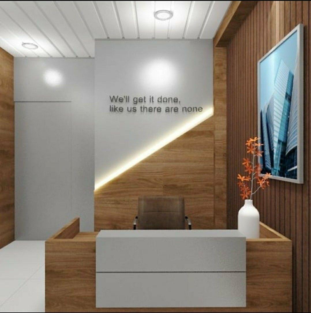 Reception Table Ideas In 2020 Interior Designers In Delhi Home Interior Design Residential Interior Design