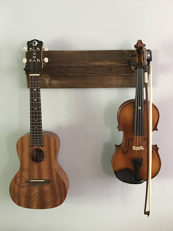 wooden ukulele wall hanger also great for a mix of guitar on wall hanger id=31531