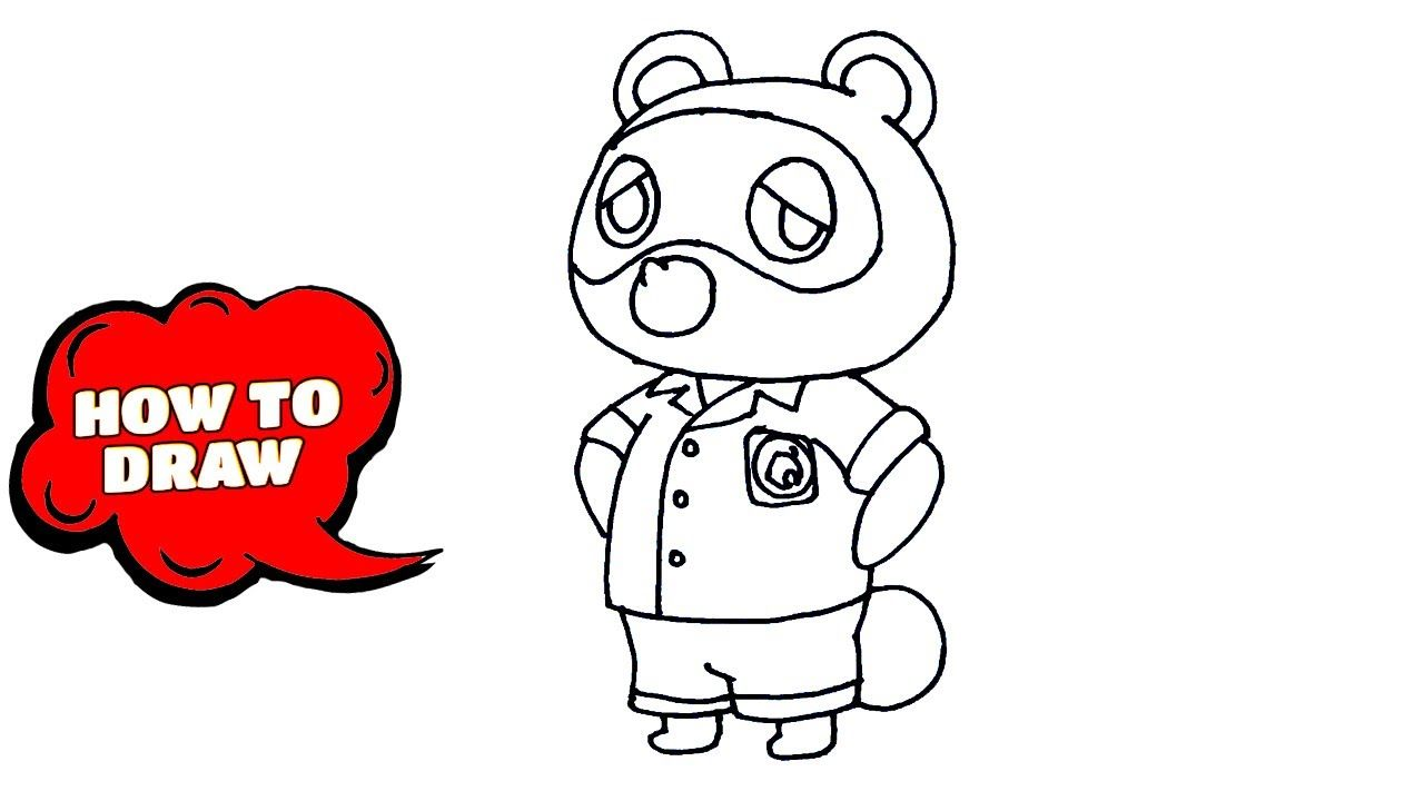 11+ How to draw animal crossing images