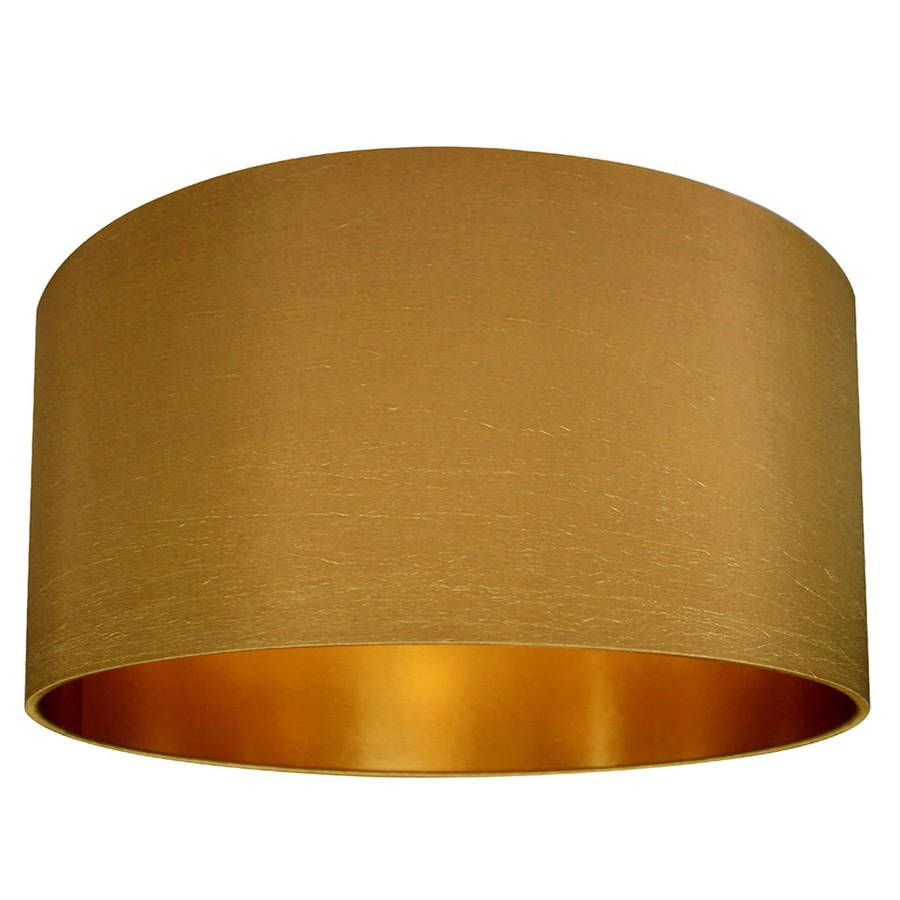 Gold Lined Lampshade In Antique Goldhttps://www.notonthehighstreet.com/lovefrankie/product/gold-lined-lampshade-in-antique-gold