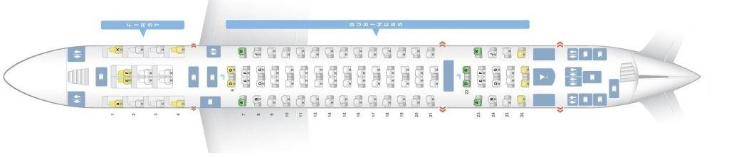 Emirates Airbus A380 800 Seating Plan Dengan Gambar Nice