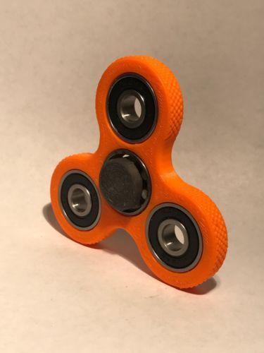 #Trending02 - Fidget Spinner / Fidget Toy / Hand Spinner / Tri-Spinner / Gray On Orange https://t.co/8GppaPkPLY Ebay https://t.co/7kELXOWmO2